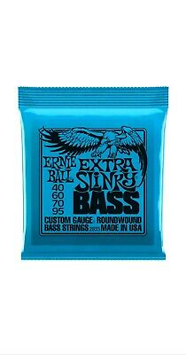 ERNIE BALL 4 Strings Extra Slinky 40-95 Nickel Wound Electric Bass Guitar 2835