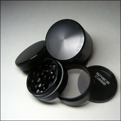 *AUTHENTIC* SPACE CASE GRINDER - 2.5 Inch 4 Piece Tobacco Titanium FREE SHIPPING