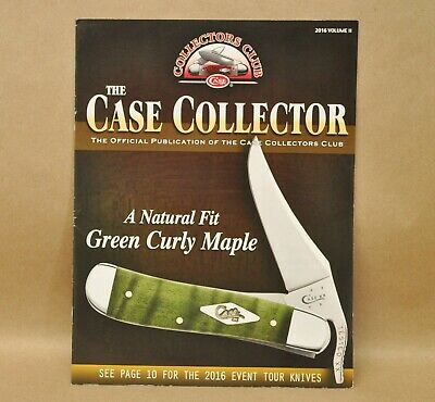 The Case Collector Publication Knife Magazine Collectors Club 2016 Volume II
