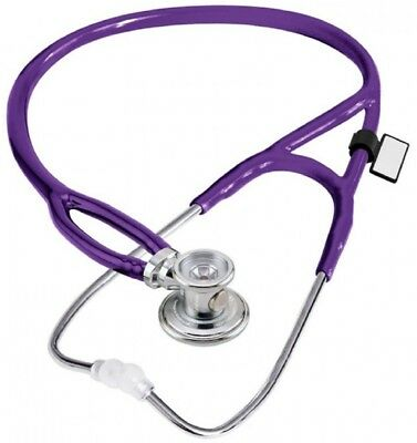 NEW MDF Instruments Purple Rappaport X 2-in-1 Deluxe Sprague Stethoscope