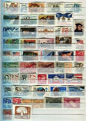 Usa United States Of America 1981 – 1991  ***** 48 Used Stamps