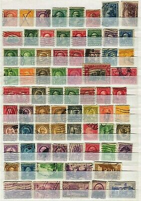 Usa United States Of America 1870 – 1937  ***** 72 Used Stamps