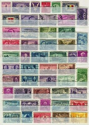 Usa United States Of America 1940 – 1948  ***** 50 Used Stamps