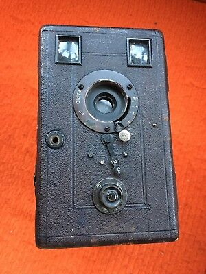1880's BECK RAPID RECTILINEAR FALLING PLATE BOX CAMERA