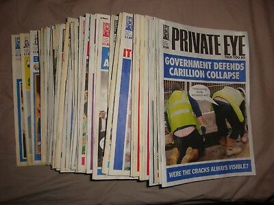 Private Eye Magazine 50 issues (collection only)