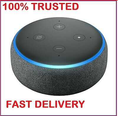 Boxed New Amazon Echo Dot 3rd Generation - Smart Speaker with Alexa - Sandstone