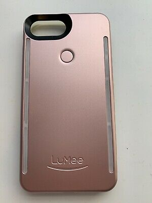 pretty nice 13188 0d016 LUMEE CASE FOR iPhone 6,7,8,6s Rose Gold - Light Selfie Case BRAND NEW!