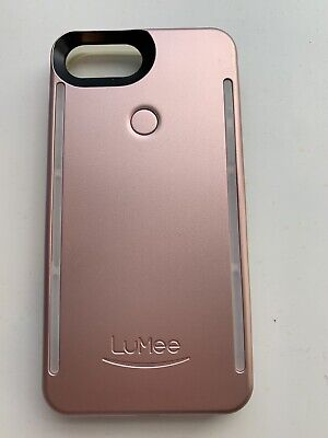 pretty nice a3df1 570c2 LUMEE CASE FOR iPhone 6,7,8,6s Rose Gold - Light Selfie Case BRAND NEW!