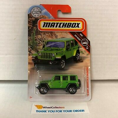 '18 Wrangler JL Unlimited Rubicon * Green *  2019 Matchbox Case N