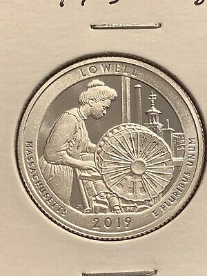 2019 S Silver Lowell Proof Quarter *Free Shipping*