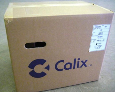NEW CALIX 100-00257 C7 REM SHELF ASSEMBLY 23 SLOT CHASSIS 100-00257 w/Cable  Kit
