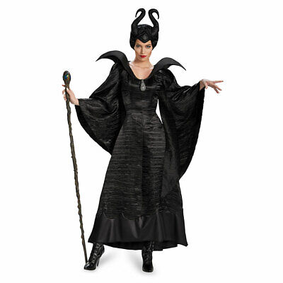 Womens Maleficent Christening Deluxe Costume sz Large 12-14