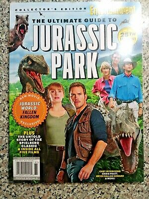 The Ultimate Guide To Jurassic Park Entertainment Weekly Collector's Edition