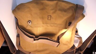 Finnish Military Shoulder Backpack Gas Mask Bag From 50:S
