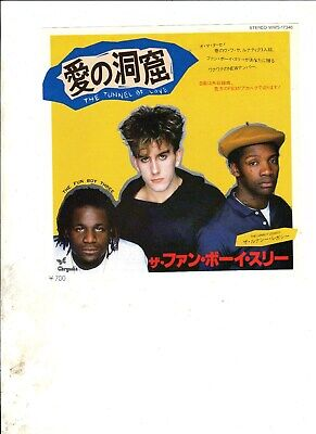 """FUN BOY THREE Tunnel of Love JAPAN 7"""" w/PS 80s NEW WAVE POP The Specials"""