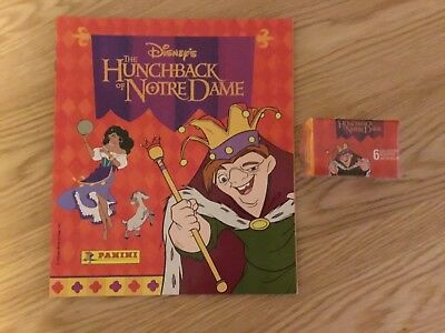 HUNCHBACK of NOTRE DAME STICKER ALBUM COMPLETE WITH ALL STICKERS (Not Inserted)