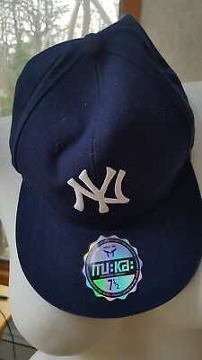 06b9bd91129 New York Yankees Cap Hat Embroidered NY NYC Men Adjustable Curved ...new 7