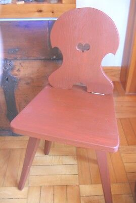 Wonderful Moravian Child's Chair German Chair