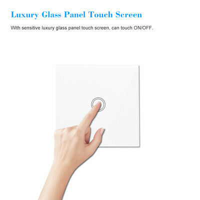 4PCS SONOFF T433 86 Type Luxury Wall Touch Panel Sticky 433MHz Wireless RF E8C8