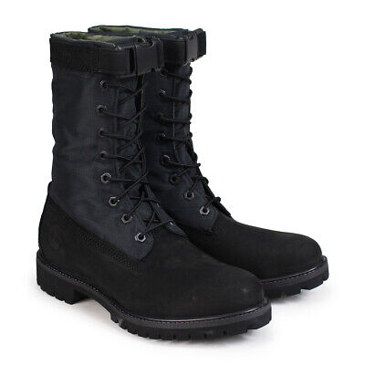 640671dc55e Timberland Men s Special Release Mixed Media Gaiter Boots A1Ubp Black camo