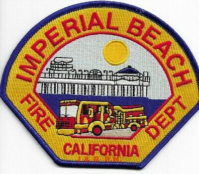 Imperial Beach  Fire Dept., California  fire patch