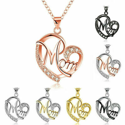 Women Lady Mom Pendant Necklace Gift for Mother Daughter Grandmother Jewelry