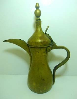 Antique Large Islamic Dallah Coffee Pot Arabian Middle Eastern Arabic Bedouin