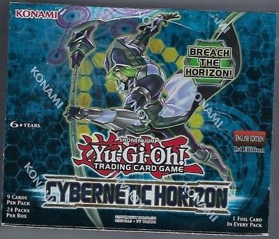Yu-Gi-Oh Cybernetic Horizon 1st Edition Booster Box Factory Sealed