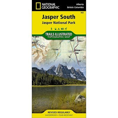 National Geographic Jasper SOUTH Trails Illus Topo Map - Map # 902 - Canada