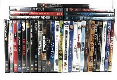 DVD Movies Lot Of 33 DVD