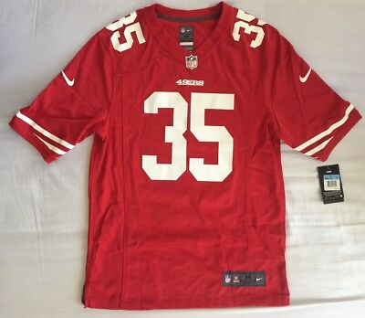 bcc505de5 Nike On Field San Francisco 49Ers Eric Reid  35 Nfl Jersey - Men s Medium M