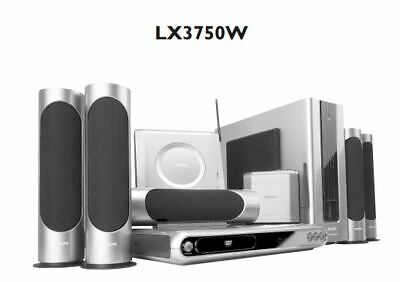 Home Theater System Philips LX3750W 5.1 Channel