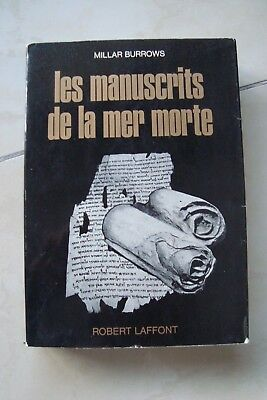 Les Manuscrits De La Mer Morte - Burrows 1970 Énigmes De L'univers