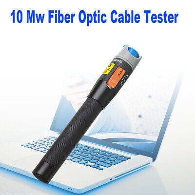 10 Mw Visual Fault Locator Fiber Optic Laser 10KM Cable Test Tester Equipment