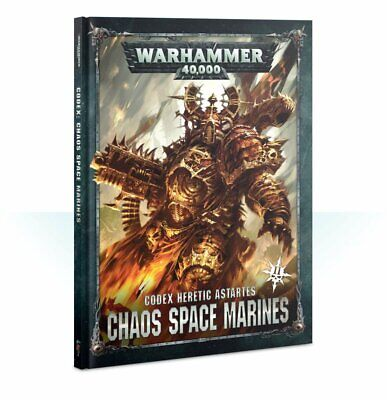 Pre-Order Warhammer 40,000 -- Codex: Chaos Space Marines - New Version