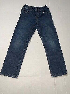 Preowned- The Childrens Place Button Front Classic Jeans Kids (Size 6)