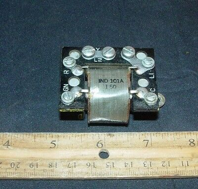 VINTAGE WESTERN ELECTRIC 302 Telephone Induction 101A Coil (s)