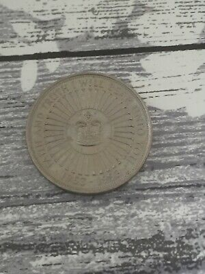 £5 Five Pound Coin Queen Elizabeth Ii 40Th Anniversary Of Coronation 1953 - 1993