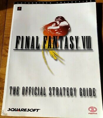 Playstation Final Fantasy 8 official strategy guide 196 pages