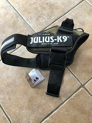 Julius K9 IDC Power Dog Harness Size 1 Camoflage New