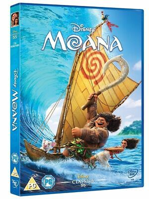 Moana DVD New and Sealed Region 2 Movie Fast & Free Delivery UK