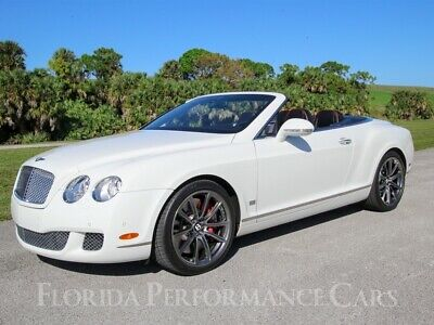 2011 Continental GT GTC Speed 2011 Bentley Continental GT GTC Speed w/ 18,525 Miles