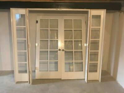Interior French Doors W Side Lights