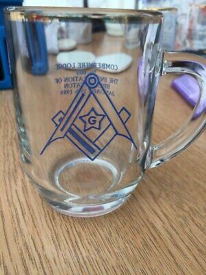 Masonic Cup, Combermere Lodge January 19th 1989