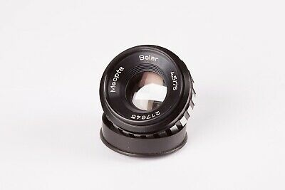 Meopta Belar 75mm f4.5 Enlarging Lens.   A Quality Optic with Meopta Mount / Cap