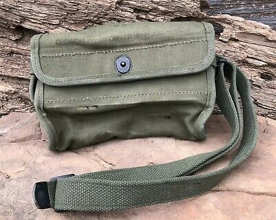 Ww2 ?? Us Military Chemical Agent Detector Kit Pouch Army
