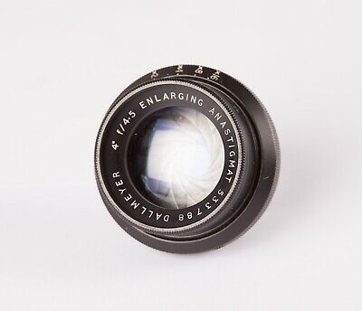Dallmeyer Anastigmat  4in, f4.5 Enlarging Lens. A Vintage Lens with Durst Mount.