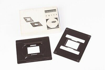Meopta 35mm Glassless Neg Carrier Inserts for Opemus Enlargers - Boxed, VGC.