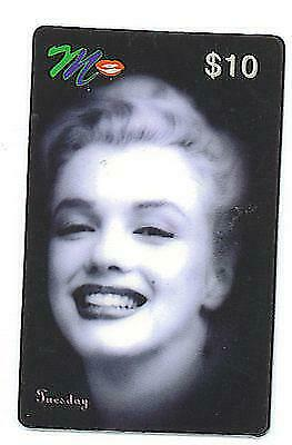 Marilyn Monroe ACMI Tuesday Commeorative Phone Card