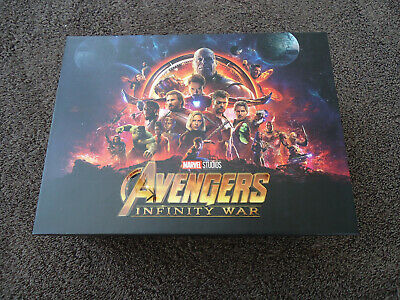 AVENGERS: INFINITY WAR BLU-RAY BLUFANS Exclusive STORAGE BOX ONLY! NO Steelbooks
